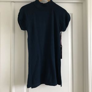Dark blue long sweater NWT